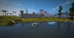 Minecraft space ship + industrial base + modpack Minecraft Map & Project