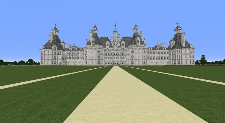 Ch teau de chambord chambord castle minecraft project - Chateau de minecraft ...