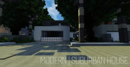 Modern | Suburban House Minecraft Project