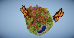 4 Portal Nature Hub (World Download + Schematic) Minecraft Map & Project