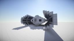 Darth Vader's TIE Advanced X1 - Replica Minecraft Map & Project