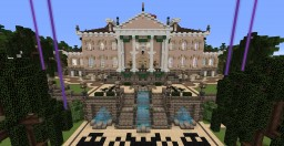 Neoclassical Mansion Minecraft Project