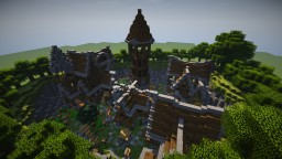 FlintWood - The caved in Village - By Cythrone Minecraft