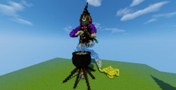 Organic Witch Minecraft Project