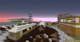 CoD - Nuketown - 1.8 - King Buildteam Minecraft Map & Project