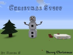 Christmas Structures Minecraft Project