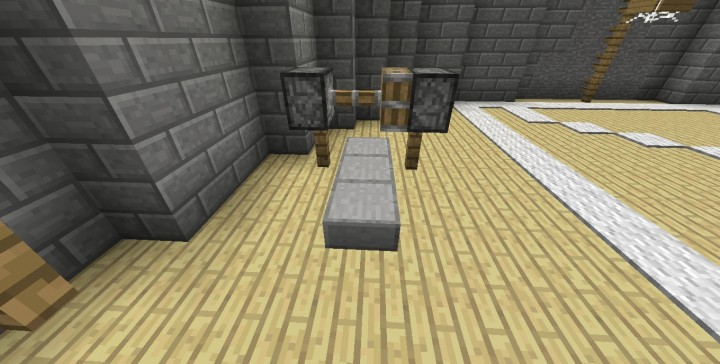 Dumbbells and gym minecraft project