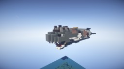 Queen Lanner's Revenge Pirate Sloop Airship For Movecraft Minecraft Map & Project
