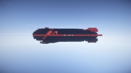 Black Light Pirate Sloop Airship For Movecraft Minecraft Map & Project