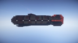 The Courageous Pirate Sloop Airship For Movecraft Minecraft Map & Project
