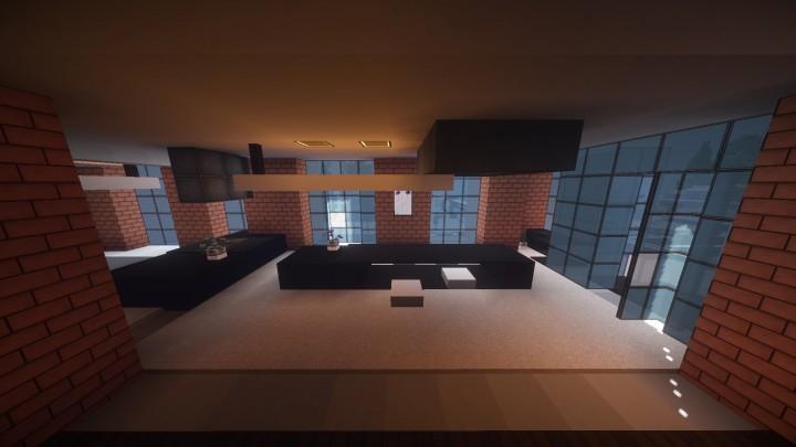 Loft interior design minecraft project - Minecraft office interior ...