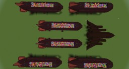 Santa's new delivery squadron Minecraft Map & Project