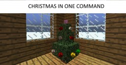 Christmas One Command Minecraft Map & Project