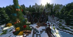 Christmas Santa workshop Minecraft Map & Project