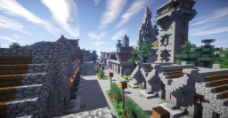 MMORPG Adventure Project (MC-V1.8) Minecraft Map & Project