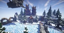 Ausgalad, the fortified village. Minecraft