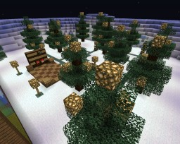 Christmas Parkour for Preston and Kenny Minecraft Map & Project