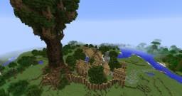 Fathenwood - an Elven Settlement Minecraft