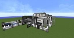 moderne house Minecraft Map & Project
