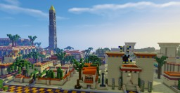My egypt town and village Minecraft