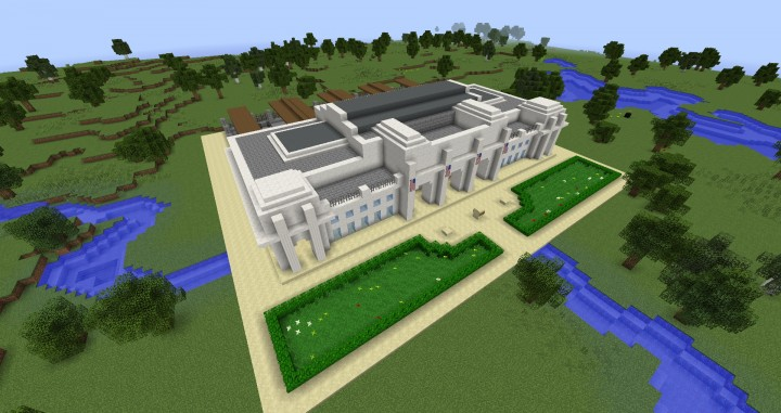 Union Station DC Minecraft Project