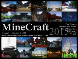 2015 My best Shot !! Minecraft Map & Project