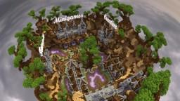 6 portall Hub area - Ravette Minecraft