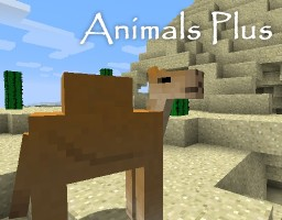 Animals Plus ★ v1.8 - Kiwis, camels and more! 🐫 🐢 (Updated 5/8/2016) Minecraft