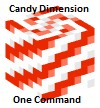 Candy Dimension One Command === 1,000 Download Special Minecraft Map & Project