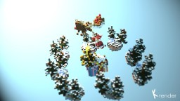 Merry Christmas Skywars Map