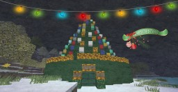 Merry Christmas! Christmas Tree Build ~ Icarus Build World Minecraft Map & Project