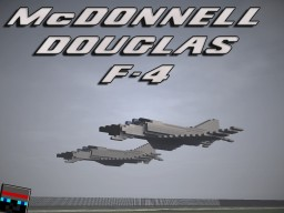 McDonnell Douglas F-4 Phantom [+Download] Minecraft