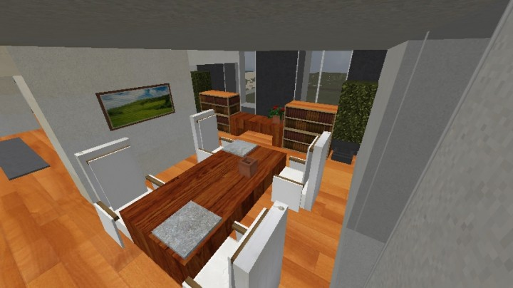 Beach home apartment operation realism minecraft project for Dining room operations
