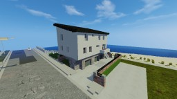 Beach Home Apartment | Operation Realism Minecraft Map & Project