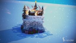 Christmas Village [24-Hour SpeedBuild] Minecraft Project
