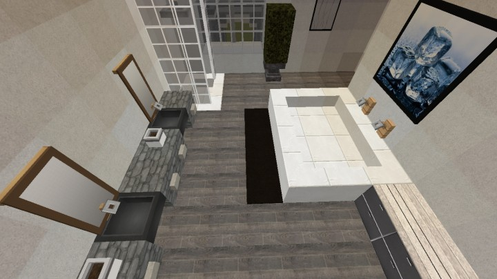 Mansion Interior Second Floor Ecs Minecraft Project