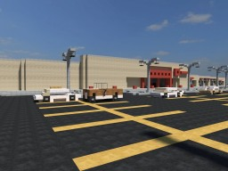 Retro Target Store and Strip Mall Minecraft Map & Project