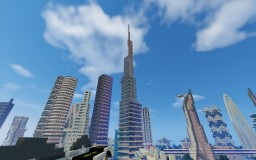 Burj Neomani I uie city Minecraft Map & Project