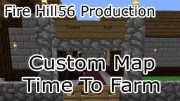 Time To Farm Custom Map V3 (15w51b) Minecraft Map & Project