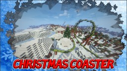 The Christmas Roller Coaster Minecraft Map & Project