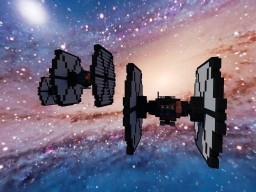 TIE Fighter STAR WARS FIRST ORDER Minecraft Project