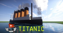 RMS Titanic! [Most realistic Titanic in Minekraft!] Minecraft Map & Project