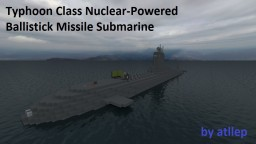 Typhoon Class Submarine [Full Interior] Minecraft