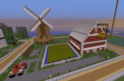 Project #2 : Farm Minecraft Map & Project