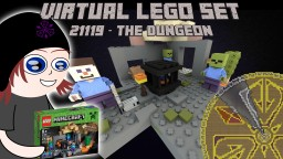 Virtual Lego Set: 21119 - The Dungeon Minecraft Project