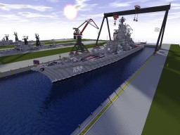 Kirov Class Battlecruiser - Piotr Velikiy Minecraft