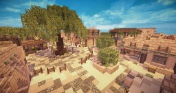 Vomosel - Arabic/Desert Styled Village Minecraft Map & Project