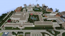 HOSPITAL (fully equipped) Minecraft Map & Project