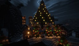 Christmas Village | Christmas at Realitycraft.us Minecraft Project