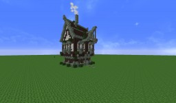 Small Steampunk House Minecraft Map & Project